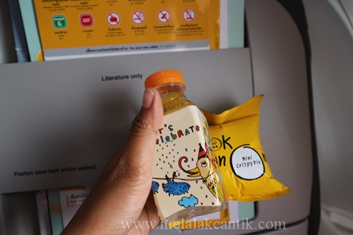 Snack gratis Nok Air