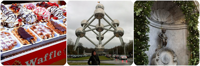 Bruxelas / Bélgica / Atomiun / Menneken Pis / Waffle