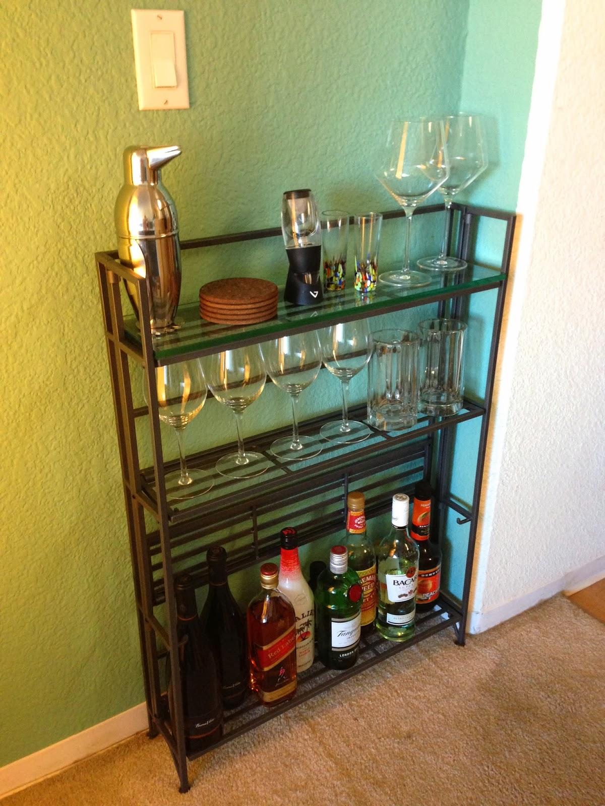 The Granola Chronicles studio mini bar