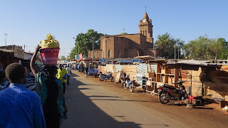 Bamako also has a church
