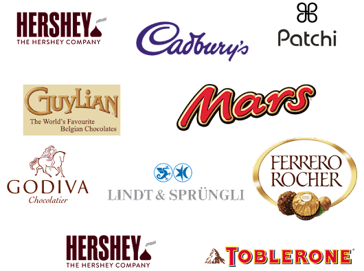 Top 10 Brands: Top 10 Chocolate Brands Most Famous in World