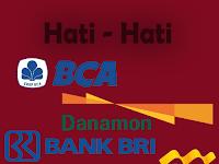 Hati Hati !!! Penipuan serta Hacker menggunakan Data Bank dan Kartu Kredit Anda.