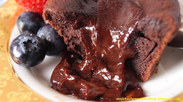 płynąca czekolada