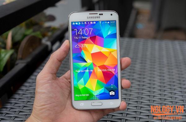 Điện thoại Samsung Galaxy S5 cũ