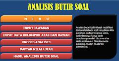 Aplikasi Analisis Butir Soal Uraian Kurikulum 2013 Dengan Skala Konversi 4.00