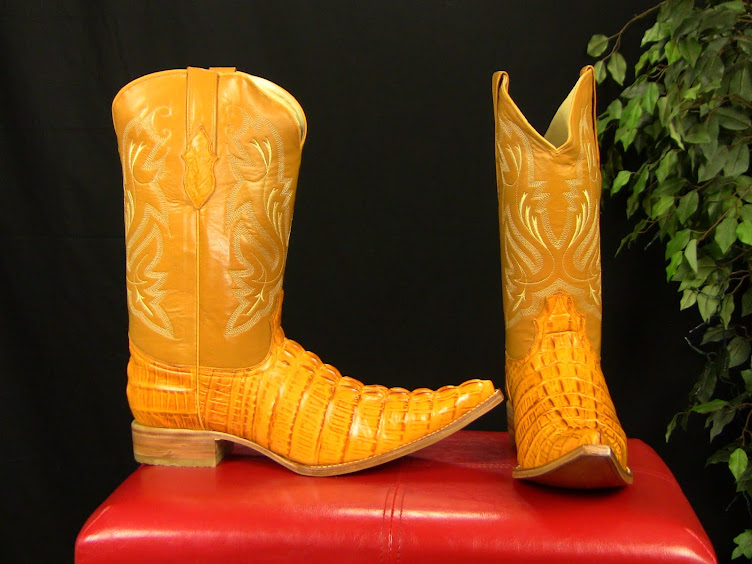 Butternut Leather Boots