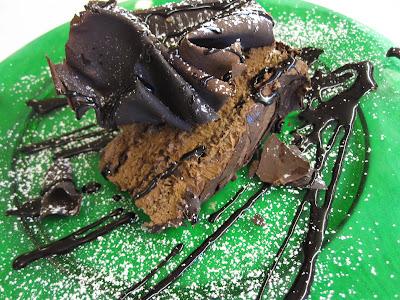 Burano, Trattoria da Romano, cioccolato torta