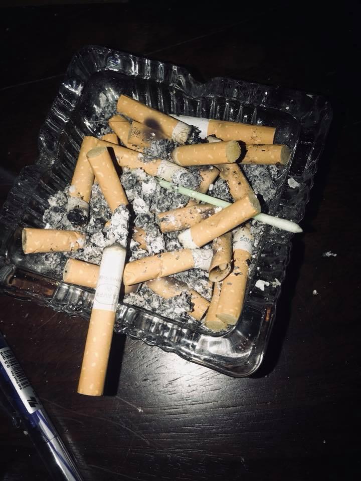Điếu thuốc của tôi...