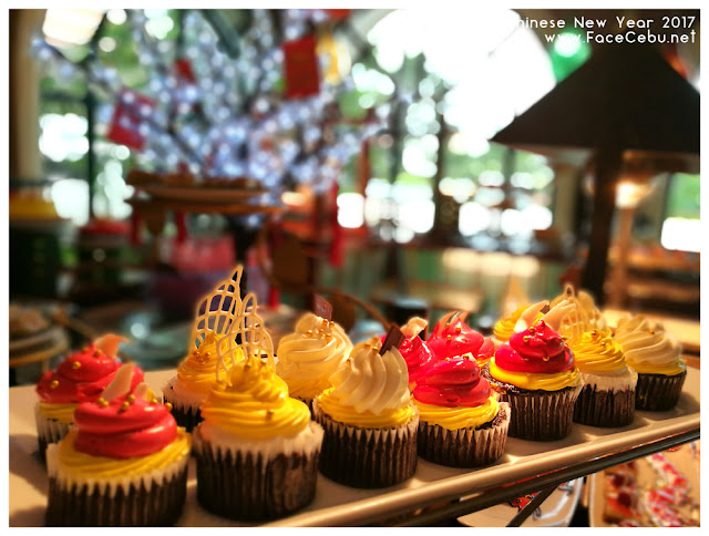 Cupcakes at UNO Restaurant,Waterfront Airport Hotel and Casino