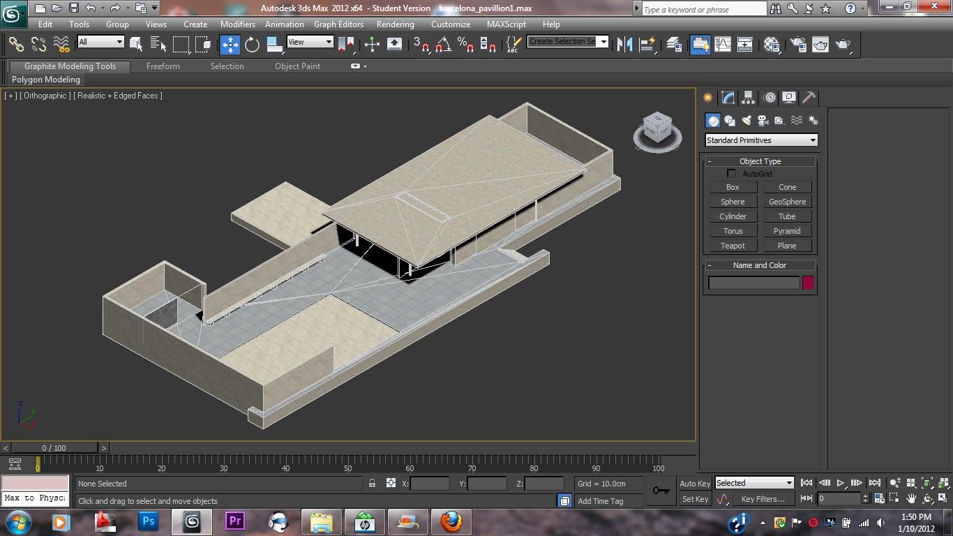 David Le - Benv2423: Progress on Barcelona Pavilion ...