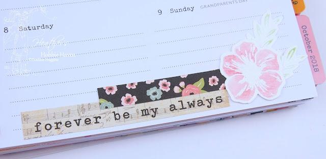 Heather's Hobbie Haven - Planner Embellishment - Week 1