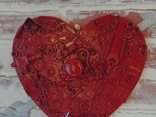 DIY Junky Valentine