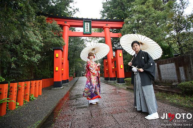 和歌山県新宮市の地元で前撮り撮影