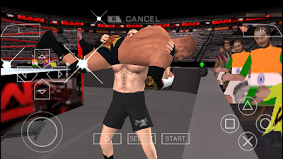 WWE 2K18 PPSSPP ISO Download For Apk Android
