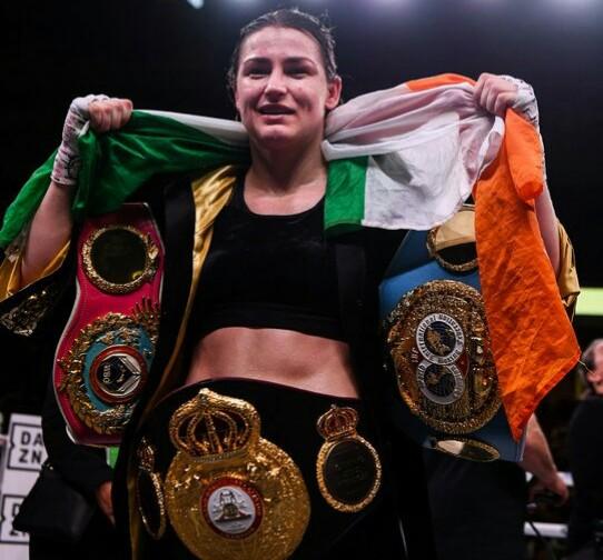 Katie Taylor WBO, WBA, IBF Women's Lightweight Champion