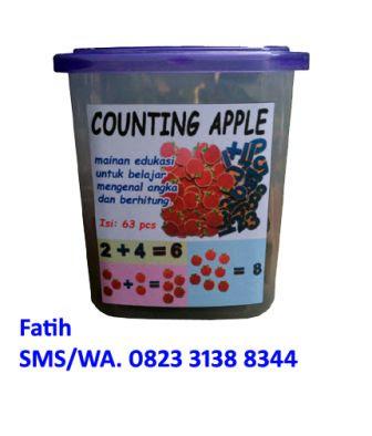 Mainan Anak Counting Apple