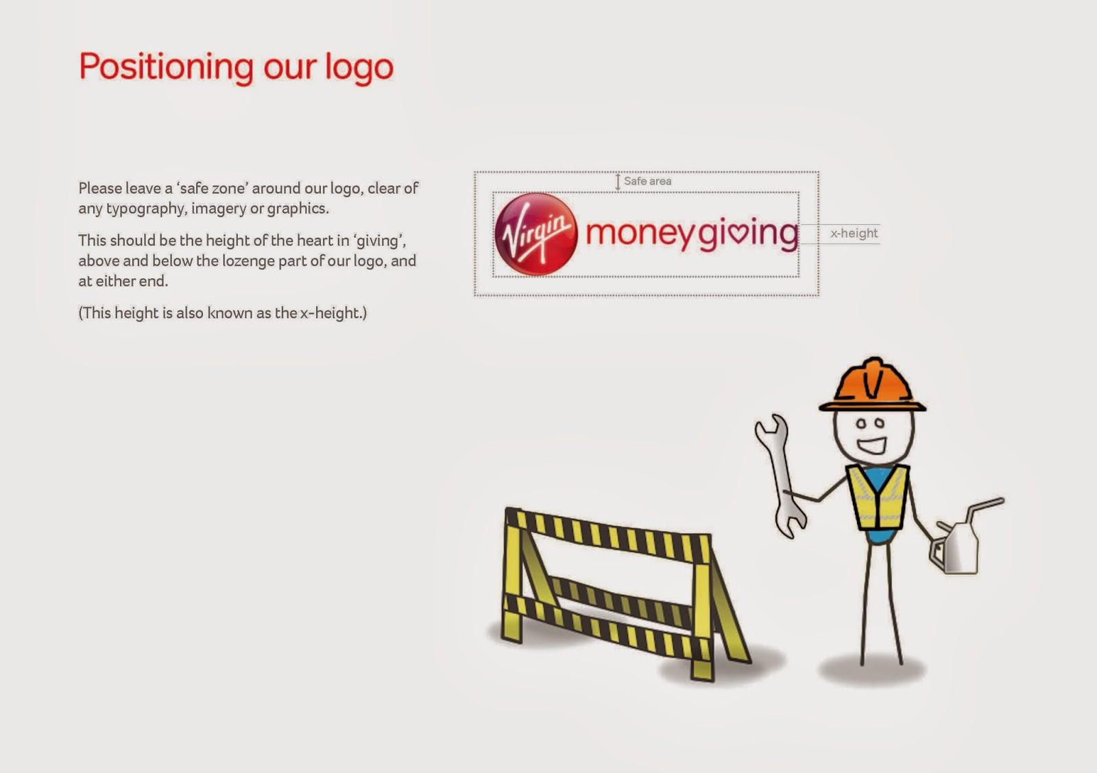 Positioning Virgin Logo