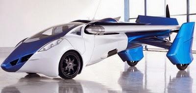 mobil yang bisa terbang - aeromobil