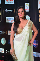 Varalakshmi in Cream Saree Sleeveless Backless Deep Neck Choli at IIFA Utsavam Awards March 2017 022.JPG