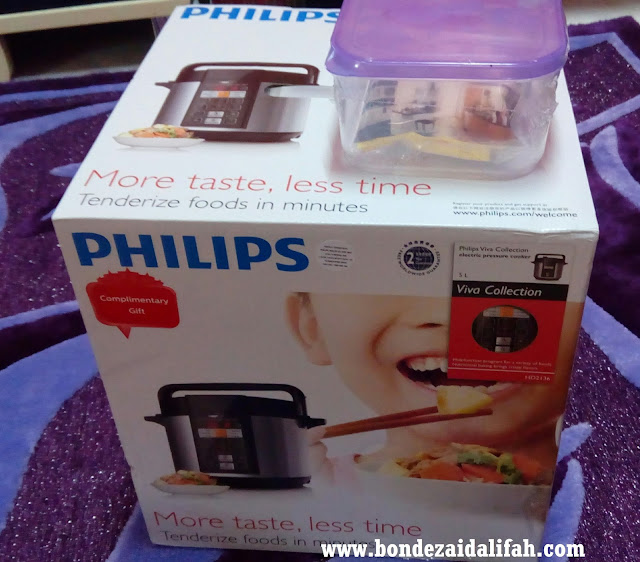 Periuk Philips Pressure Cooker Electric