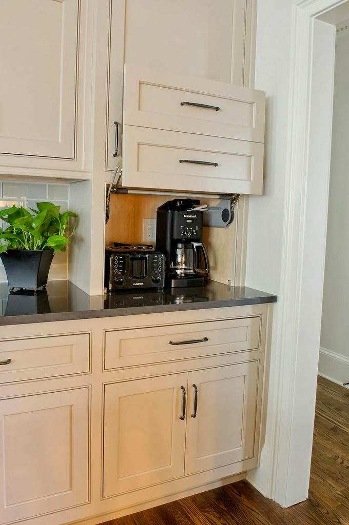 Under Counter Microwave For Easier Works: The Cow Spot: #Northcliff Kitchen Reveal