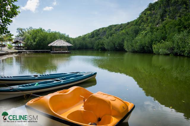 sumilon kayaking