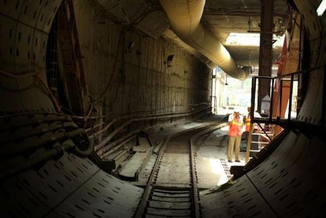 Under-construction Tunnel Actual Site Picture