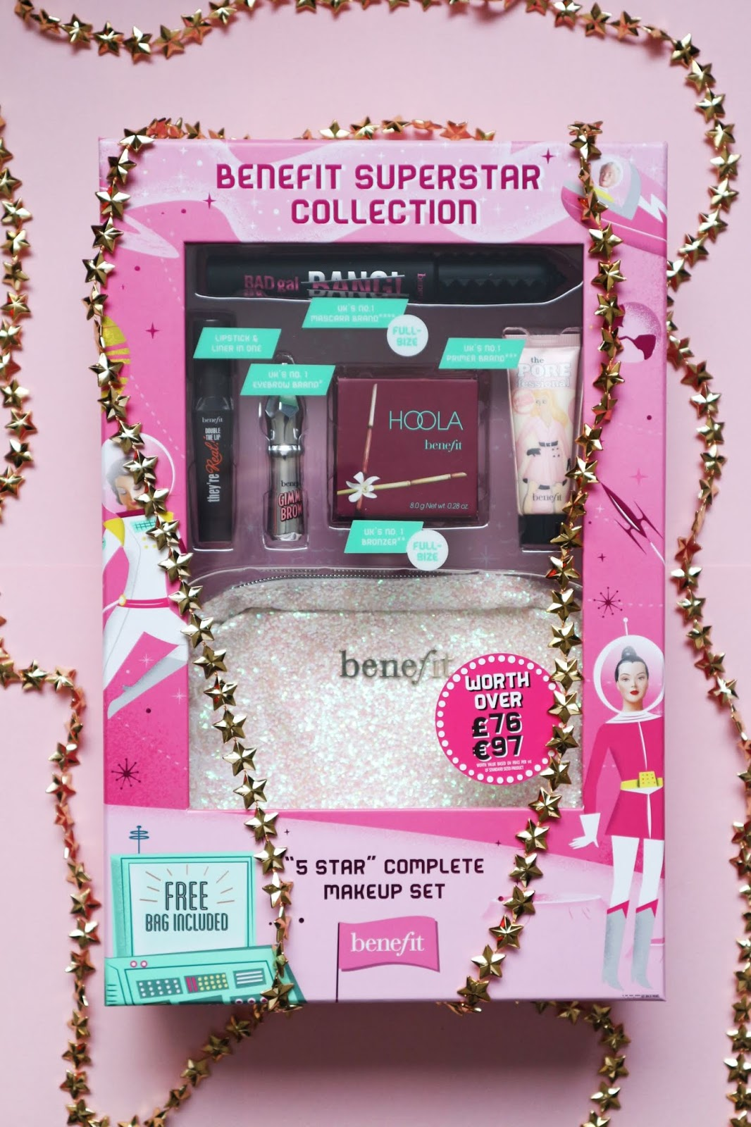 benefit star gift boots