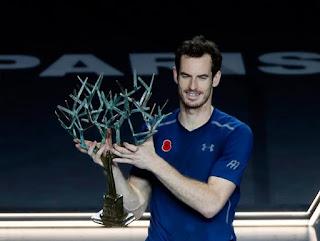 TENIS (Masters 1000 París-Bercy 2016) - Andy Murray se corona con el número 1 en tierras galas