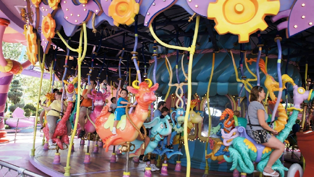 Caro-seuss-el no Islands of Adventure em Orlando