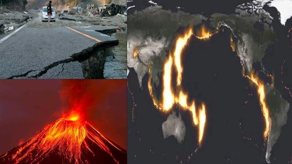 Viene un gran terremoto? El mundo en alerta por el Anillo de Fuego del Pacífico.