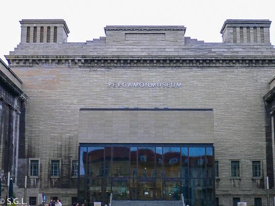 Pergamonmuseum. Museo de pergamo en Berlin