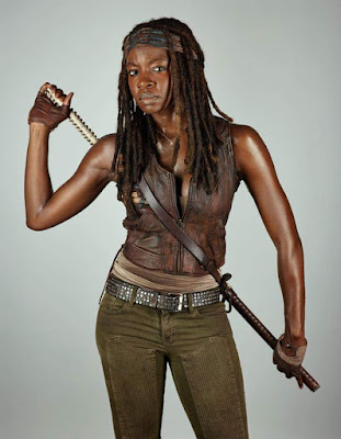 Michonne Initial Necklace - The Walking Dead