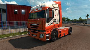 FAB Truck skin for Iveco Stralis