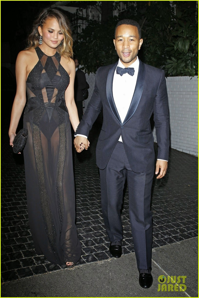 Celeb Diary: John Legend And His Wife Chrissy Teigen Leave ...