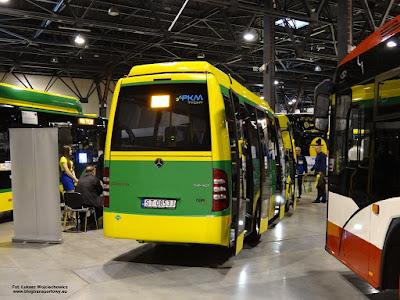 Mercedes-Benz Sprinter, CUBY City Line, PKM Tychy