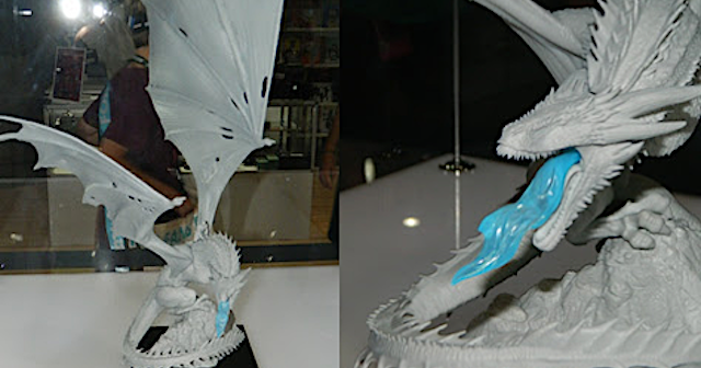 dd42120110f Dark Horse's Ice Dragon Statue from #GameofThrones (Seen at #SDCC2018)