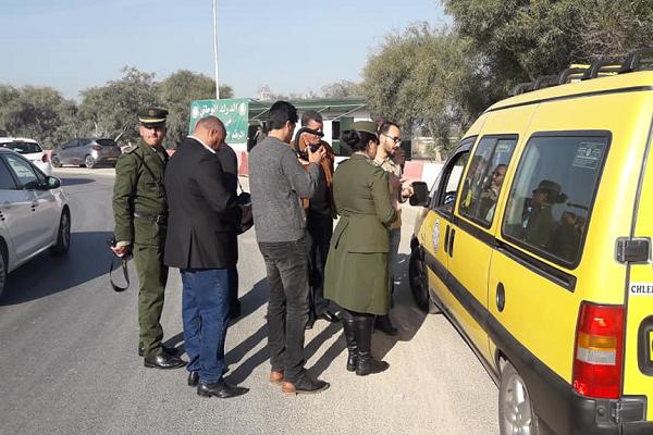 المجموعة الإقليمية للدرك الوطني  بالشلف تختم الحملات التحسيسية لفائدة سواق مركبات