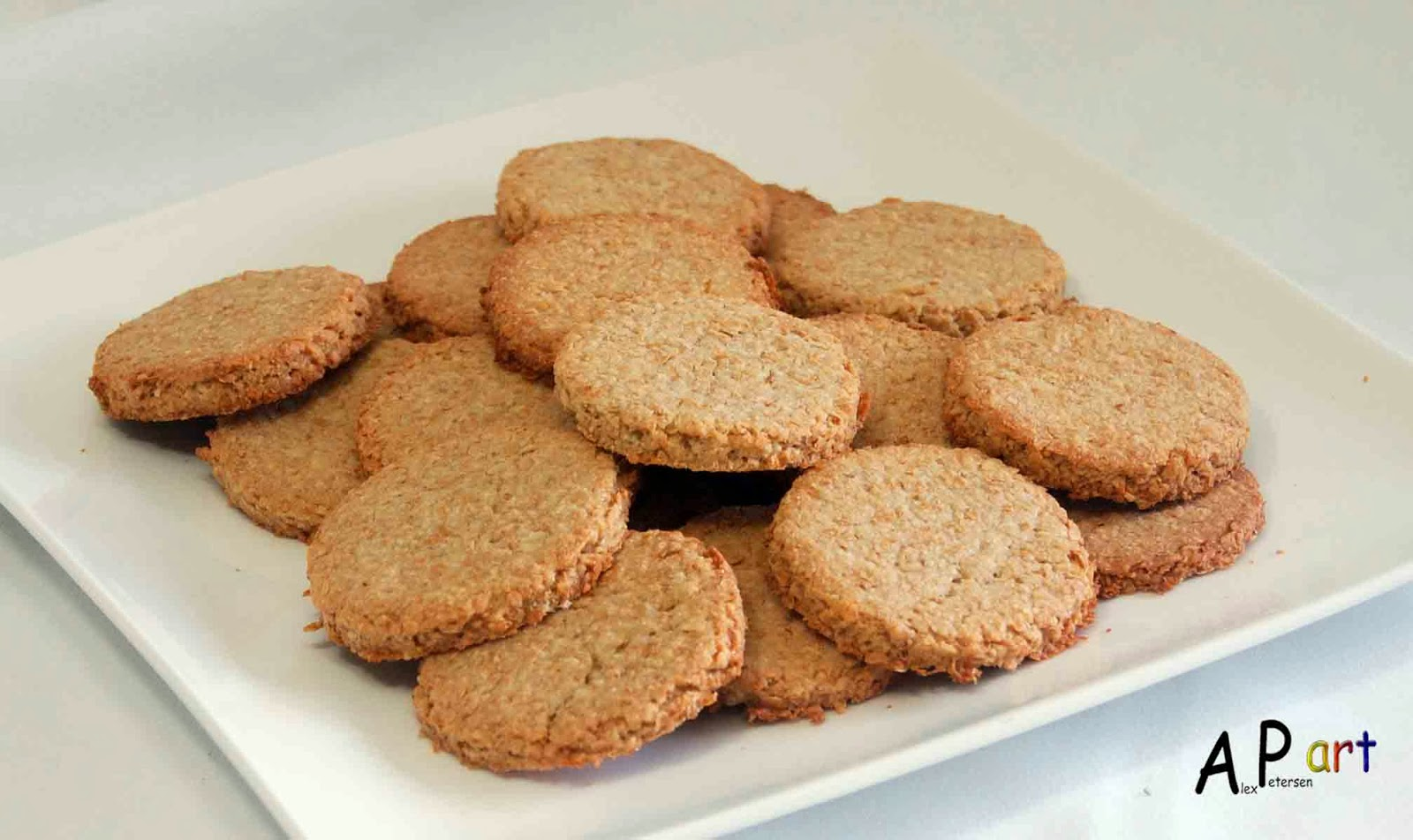 Alex the Contemporary Culinarian: Oat and Wheat Bran Biscuits