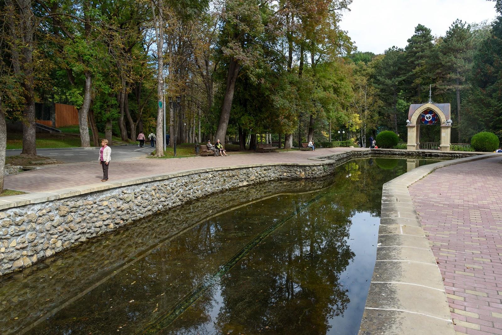 Парк в Кисловодске