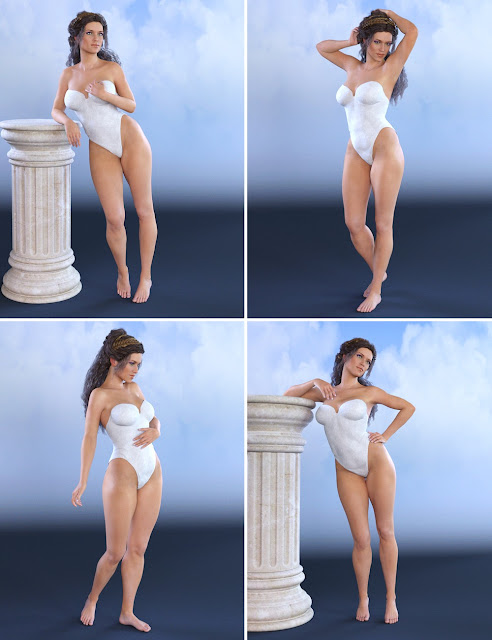 Greek Goddess Poses for Olympia 7