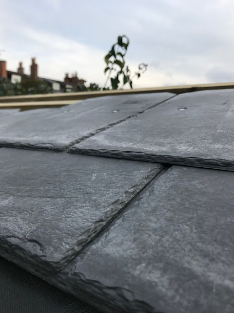 easy DIY roofing tiles