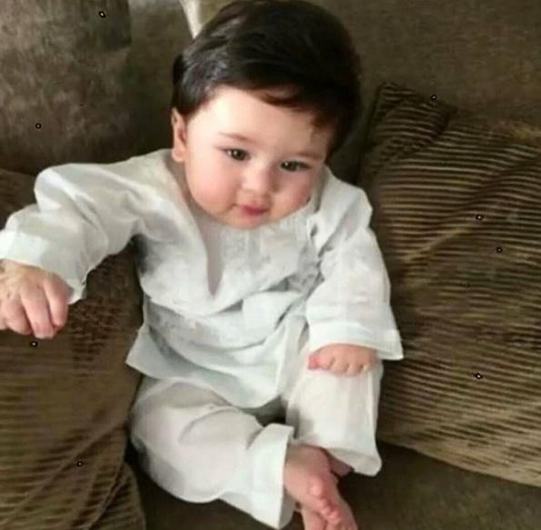 Tamiur Ali Khan Cute Pic