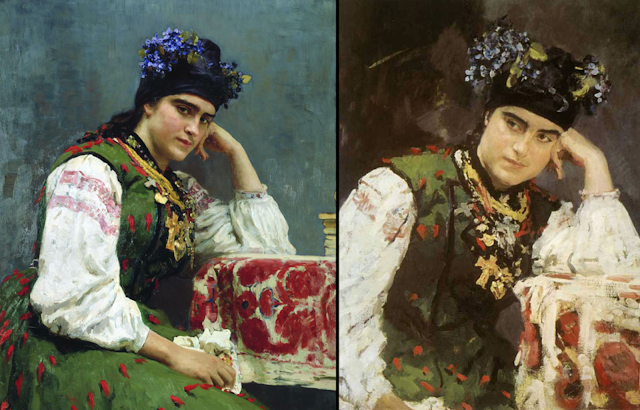 Софья Драгомирова Репин и Серов