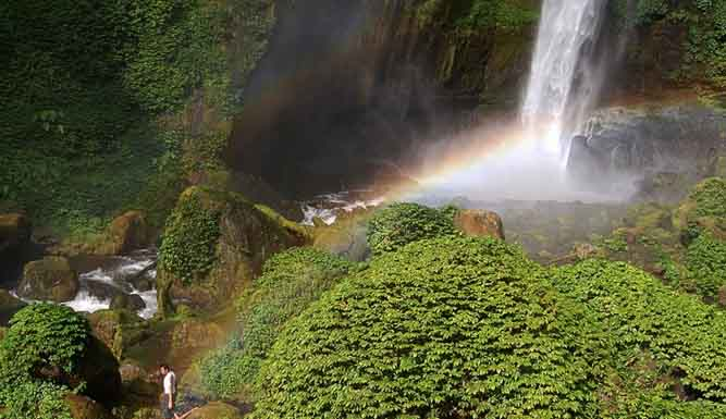 Air terjun Coban Pelangi Malang