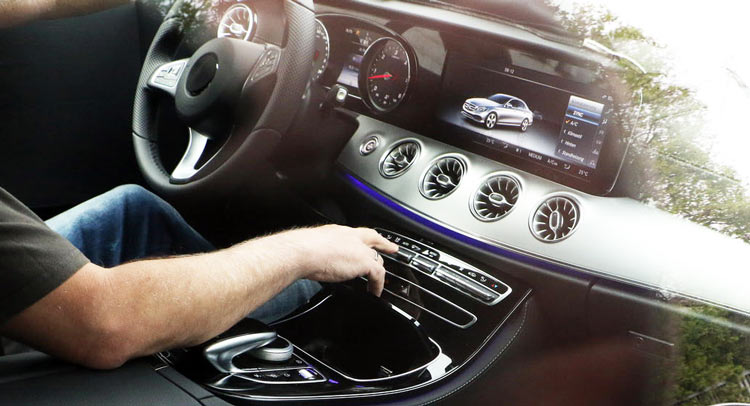 New 2018 Mercedes Benz E Class Coupe S Interior Exposed