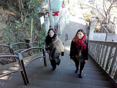 江島神社 御岩屋道
