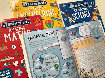 STEM Activity books review