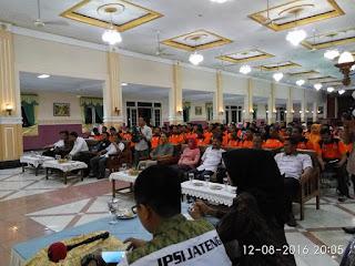 Pengprov IPSI Jateng adakan Penataran Wasit Juri Pencak Silat di Gombong
