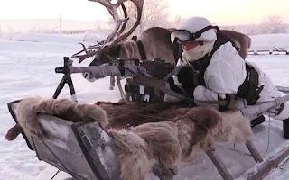 Latihan Militer di Suhu Minus 30 Derajat